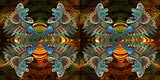 click/enlarge - Fractal Odyssey 2010 3D HD by John Hart and Jerry Oldaker - image by Jerry Oldaker
