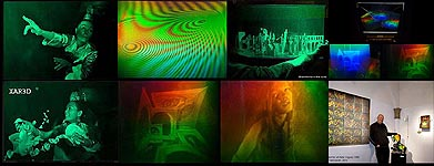 Holographic Art and Motion-Picture Holography by Al Razutis