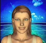 click for avatar Sally talk multiple video clips 1-2 mB  .WMV Windows Media video