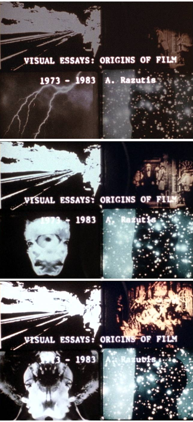 visual essays origins of film avant garde films by al razutis visual essays titles