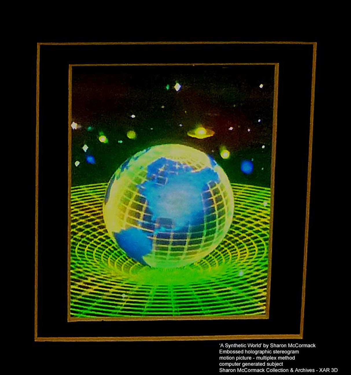 Holographic Art And Projects By Al Razutis In Stereoscopic 3D